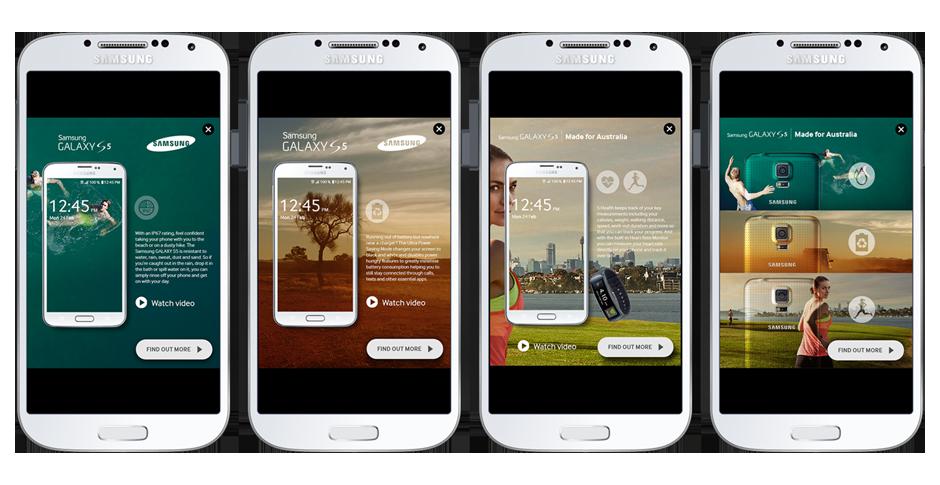 AFK - Digital Agency  Galaxy S5 Campaign